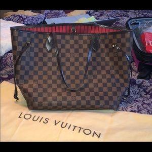 100 percent authentic Louis Vuitton neverfull